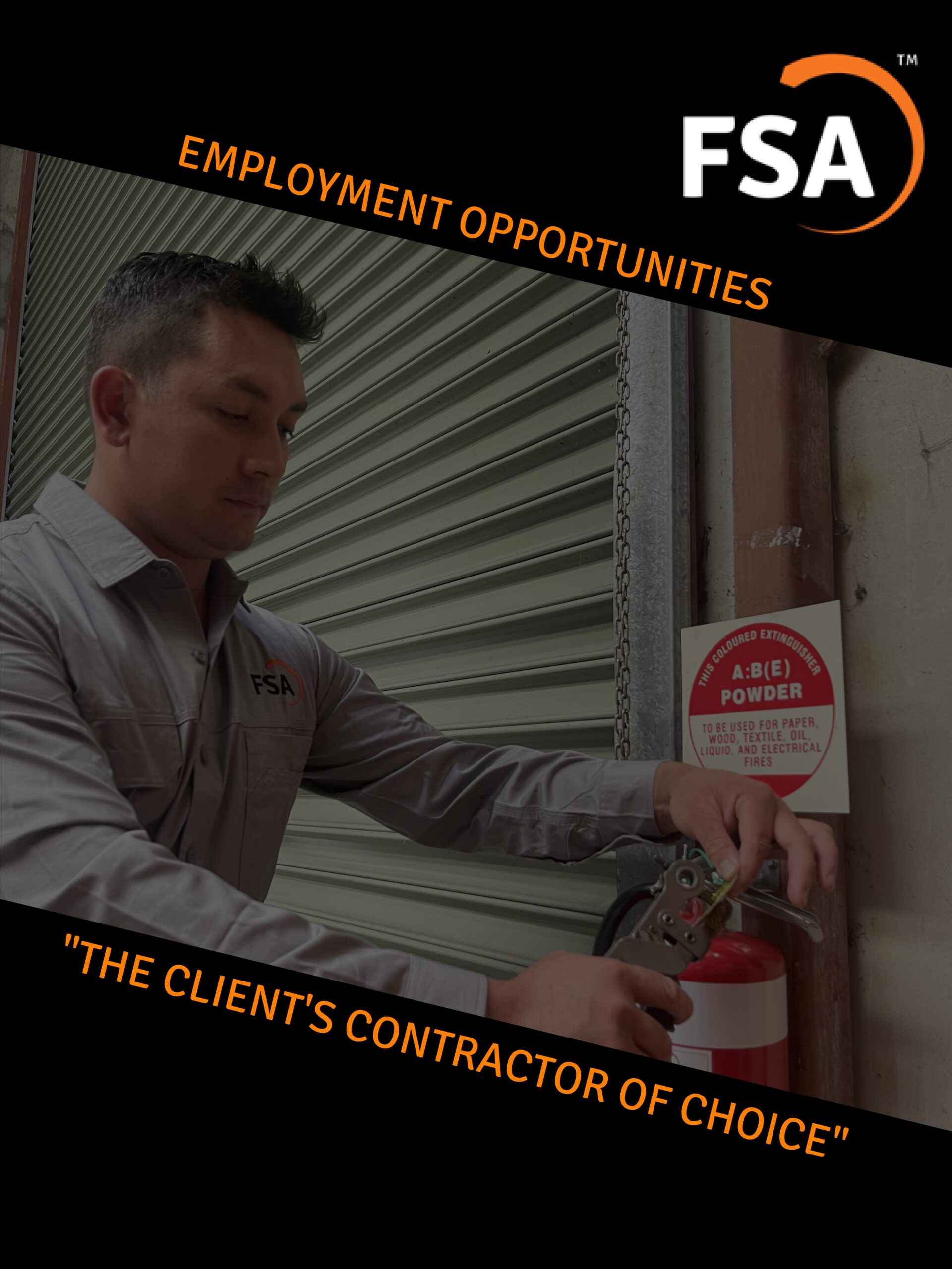 FSA SERVICES GROUP ARE NOW OFFERING EMPLOYMENT OPPORTUNITES